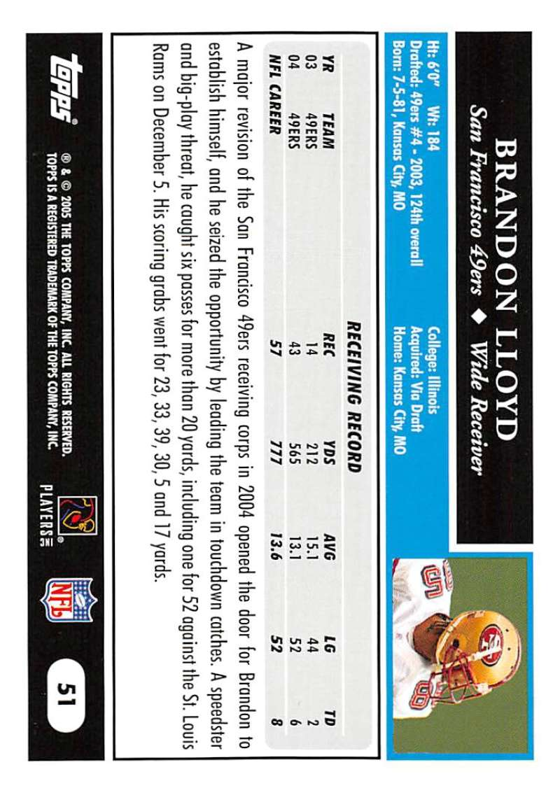 2005-Topps-NFL-Football-Cards-Pick-From-List-1-220 thumbnail 91
