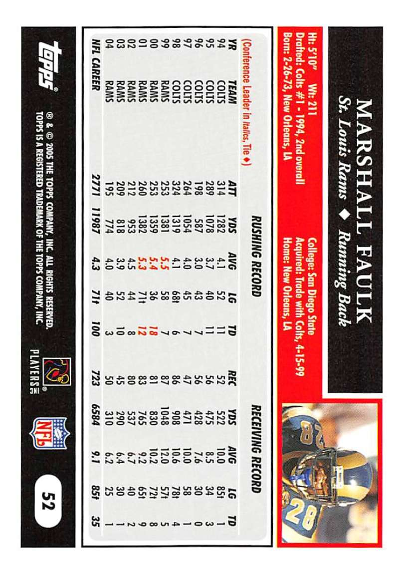 2005-Topps-NFL-Football-Cards-Pick-From-List-1-220 thumbnail 93