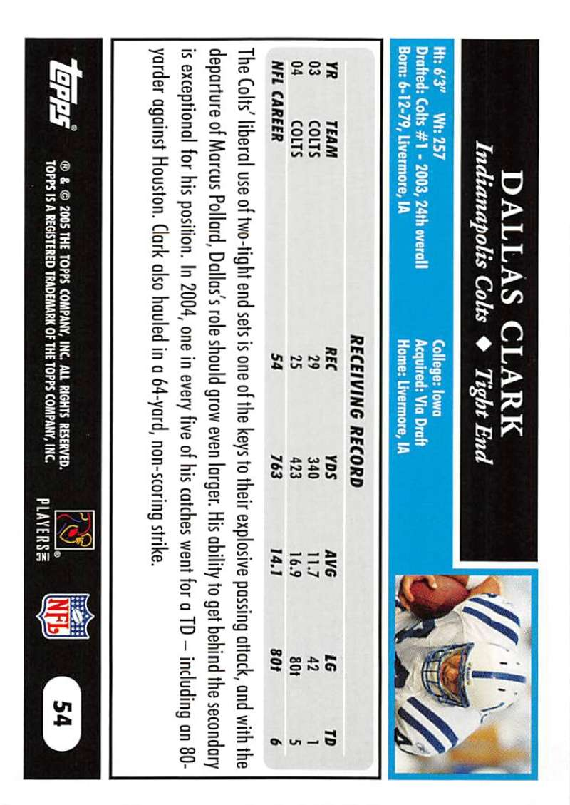 2005-Topps-NFL-Football-Cards-Pick-From-List-1-220 thumbnail 97