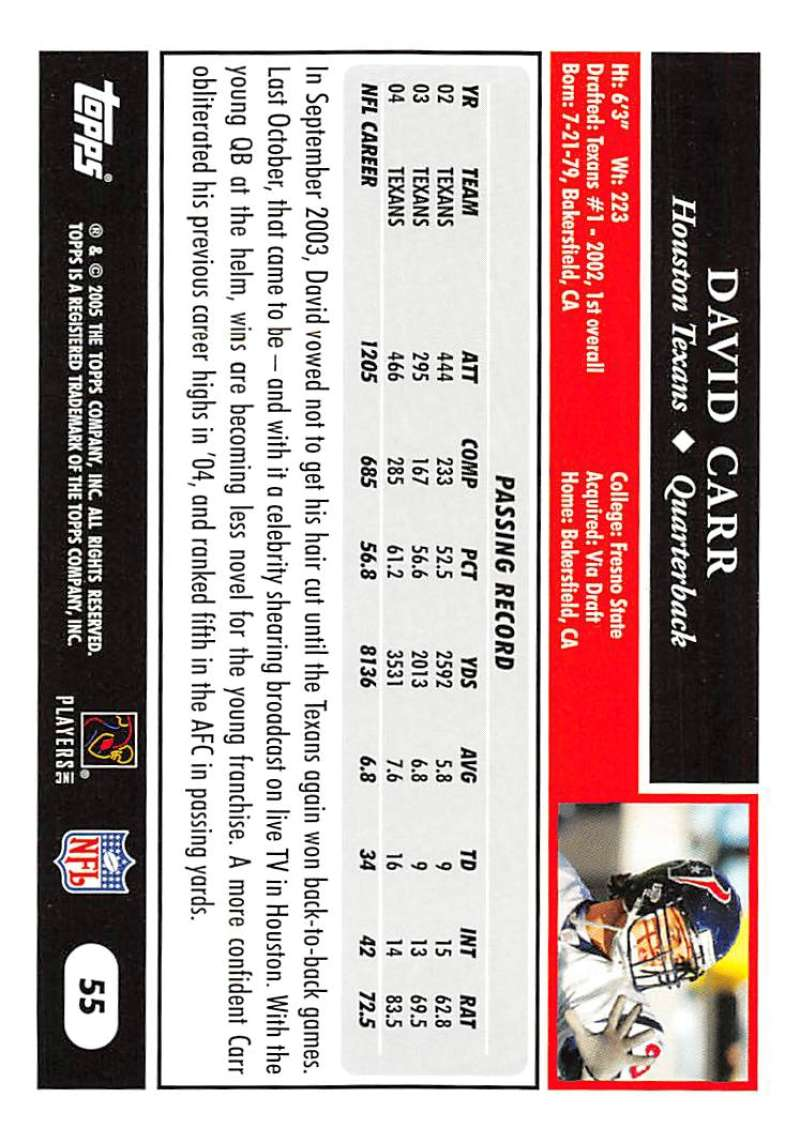 2005-Topps-NFL-Football-Cards-Pick-From-List-1-220 thumbnail 99