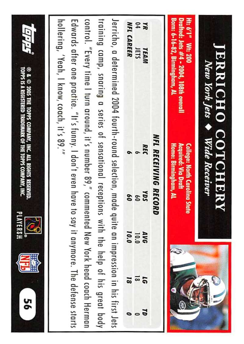 2005-Topps-NFL-Football-Cards-Pick-From-List-1-220 thumbnail 101