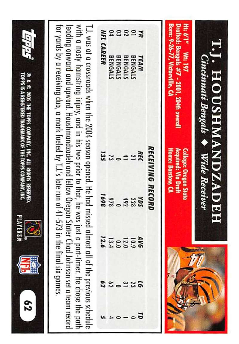 2005-Topps-NFL-Football-Cards-Pick-From-List-1-220 thumbnail 107