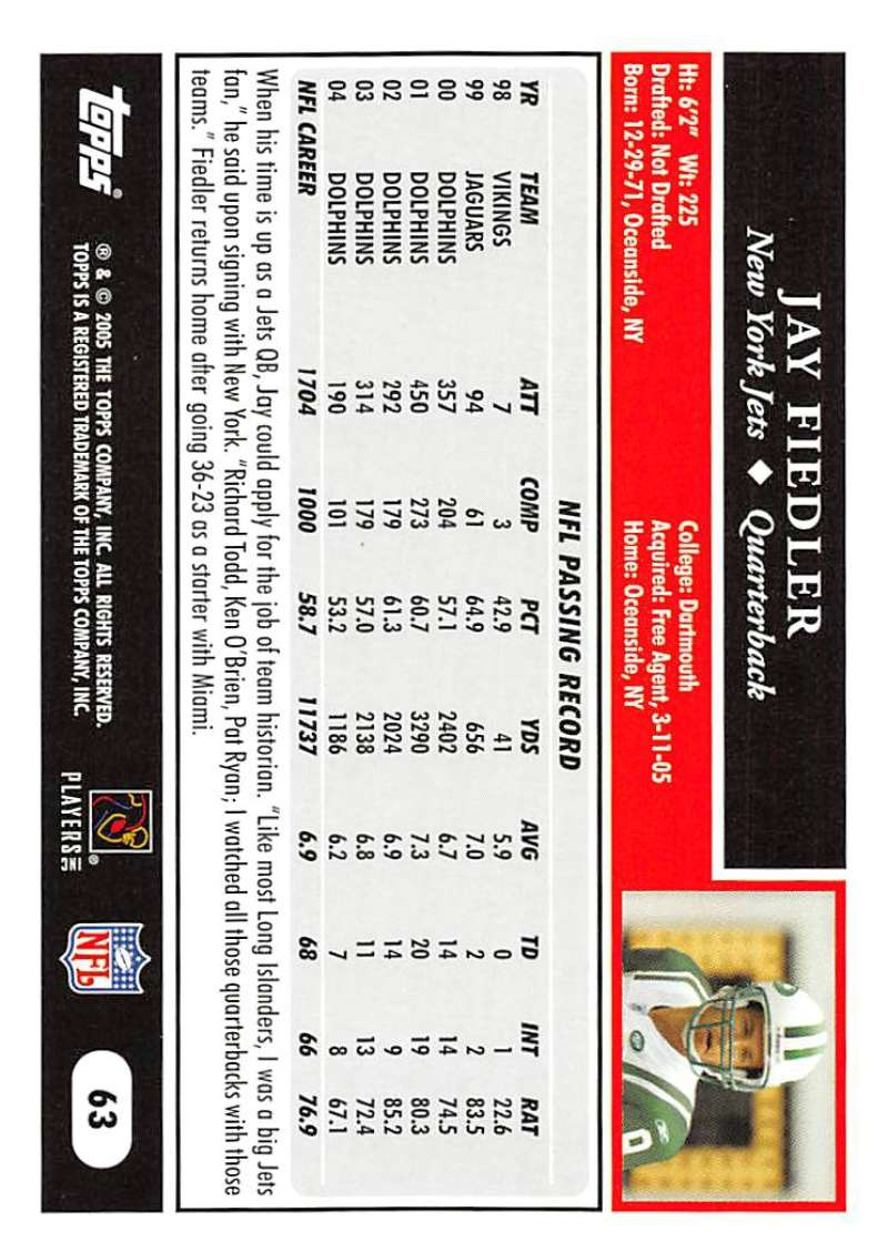 2005-Topps-NFL-Football-Cards-Pick-From-List-1-220 thumbnail 109