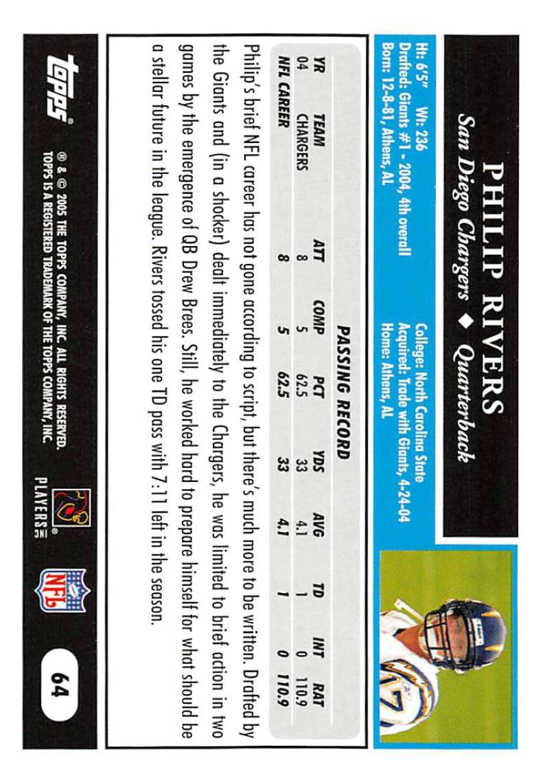 2005-Topps-NFL-Football-Cards-Pick-From-List-1-220 thumbnail 111