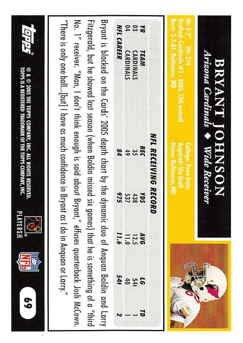 2005-Topps-NFL-Football-Cards-Pick-From-List-1-220 thumbnail 115