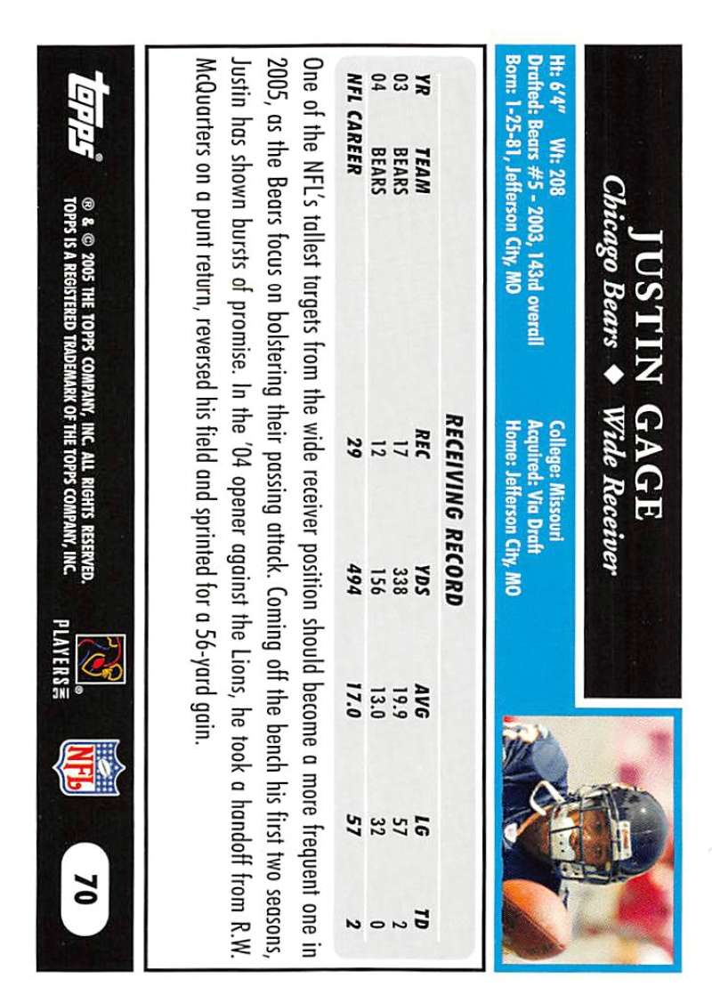2005-Topps-NFL-Football-Cards-Pick-From-List-1-220 thumbnail 117