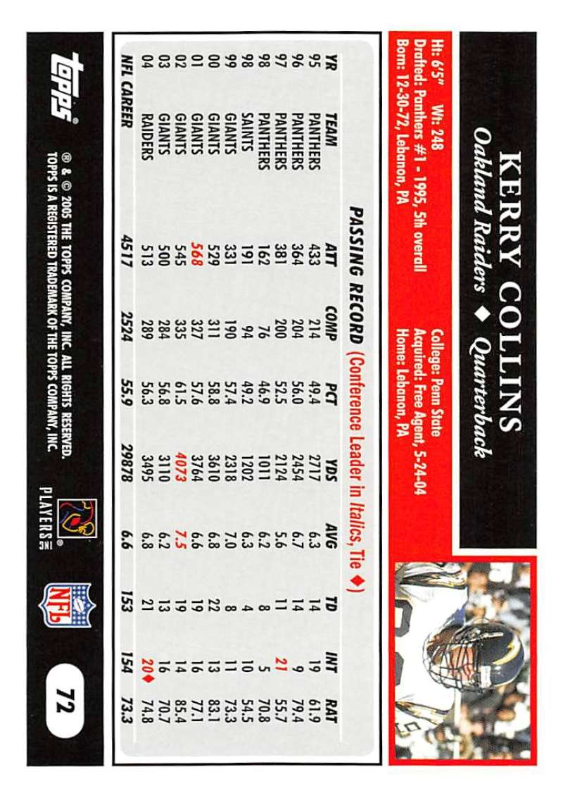 2005-Topps-NFL-Football-Cards-Pick-From-List-1-220 thumbnail 121