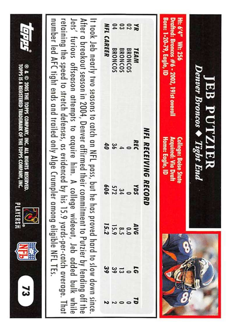 2005-Topps-NFL-Football-Cards-Pick-From-List-1-220 thumbnail 123