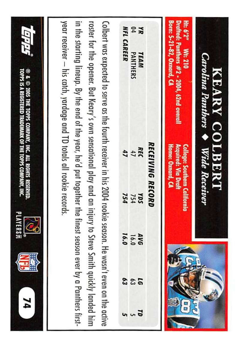 2005-Topps-NFL-Football-Cards-Pick-From-List-1-220 thumbnail 125