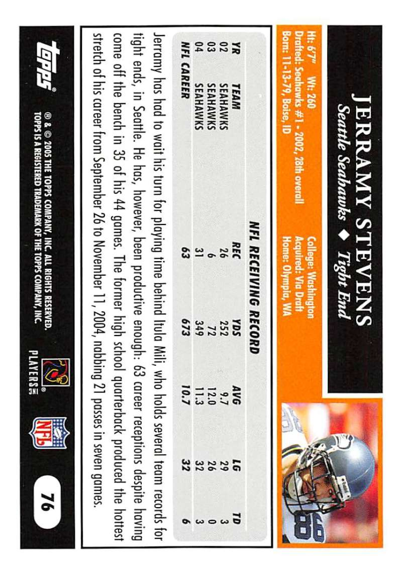 2005-Topps-NFL-Football-Cards-Pick-From-List-1-220 thumbnail 129
