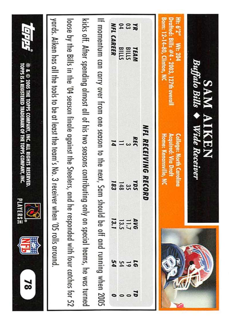 2005-Topps-NFL-Football-Cards-Pick-From-List-1-220 thumbnail 133