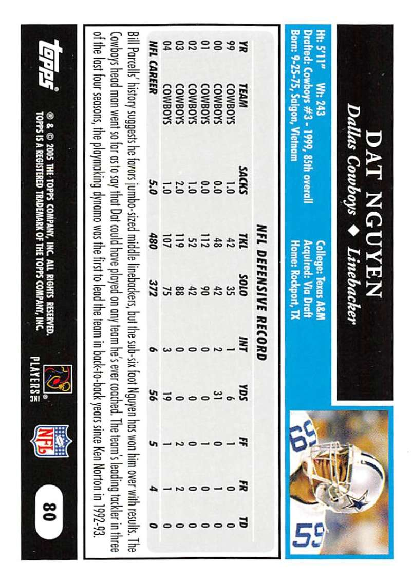 2005-Topps-NFL-Football-Cards-Pick-From-List-1-220 thumbnail 137