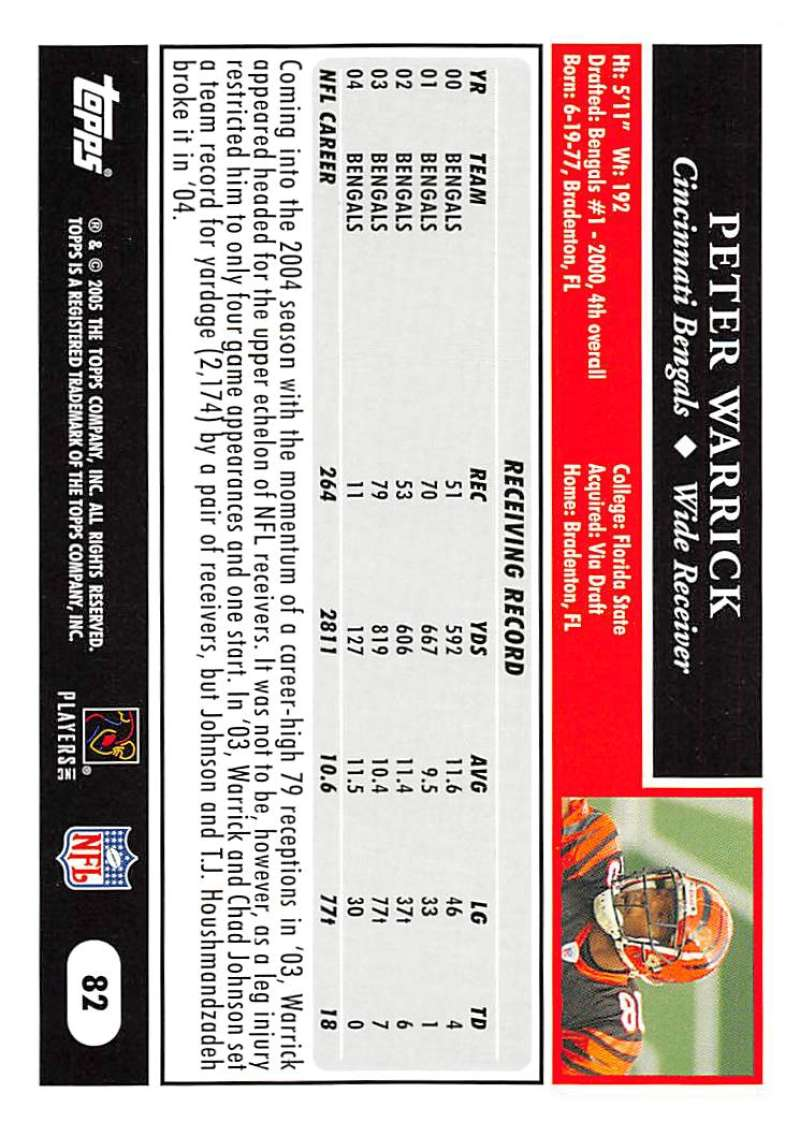 2005-Topps-NFL-Football-Cards-Pick-From-List-1-220 thumbnail 141