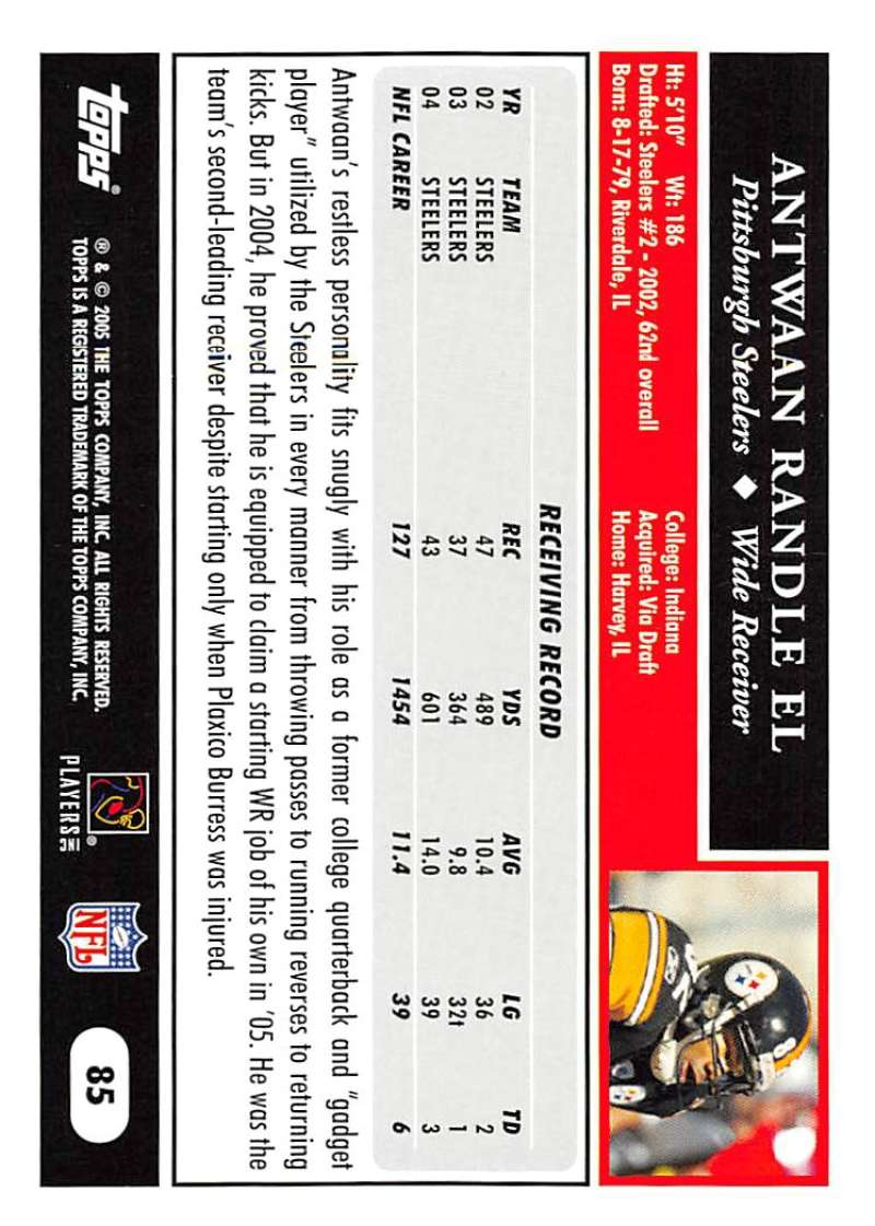 2005-Topps-NFL-Football-Cards-Pick-From-List-1-220 thumbnail 147