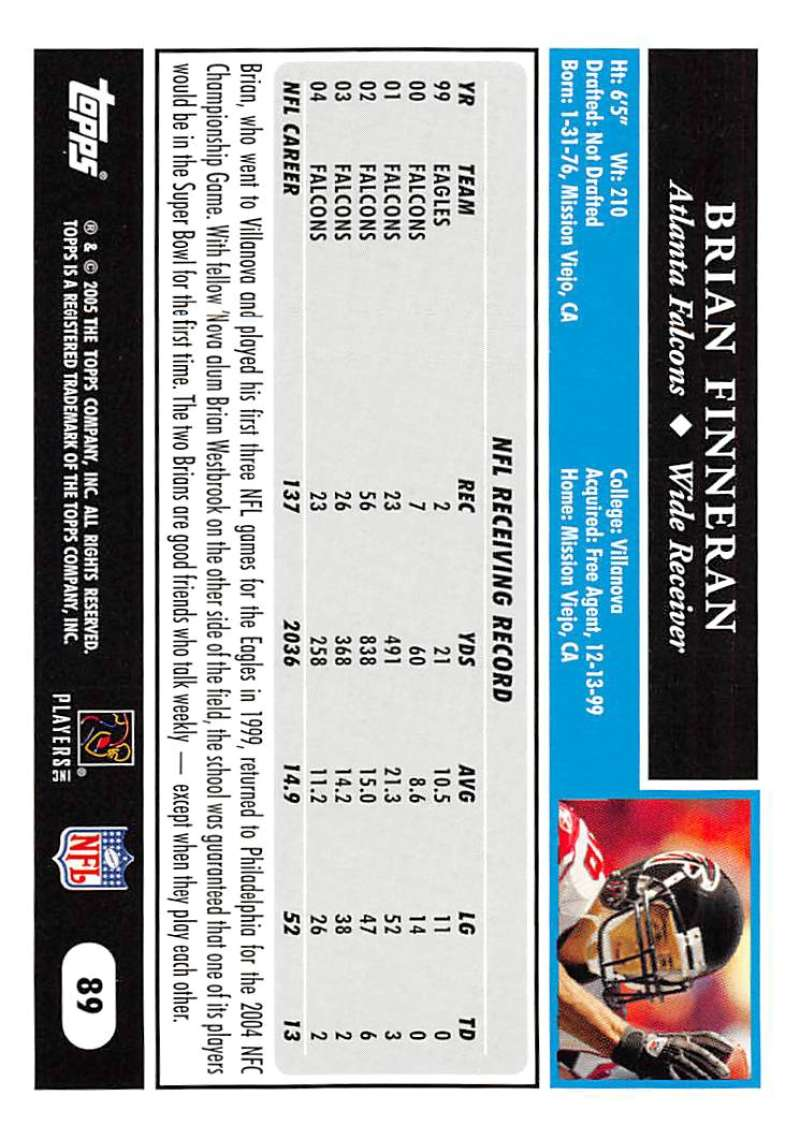 2005-Topps-NFL-Football-Cards-Pick-From-List-1-220 thumbnail 153