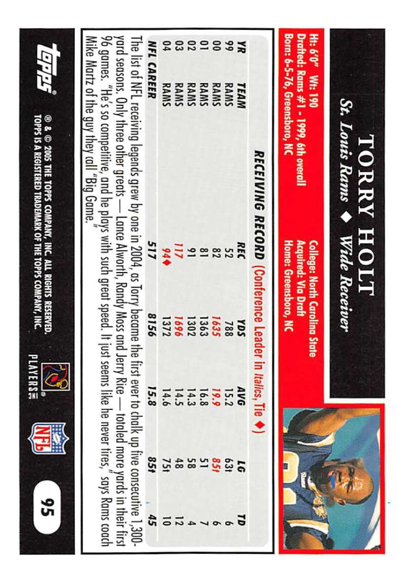 2005-Topps-NFL-Football-Cards-Pick-From-List-1-220 thumbnail 161