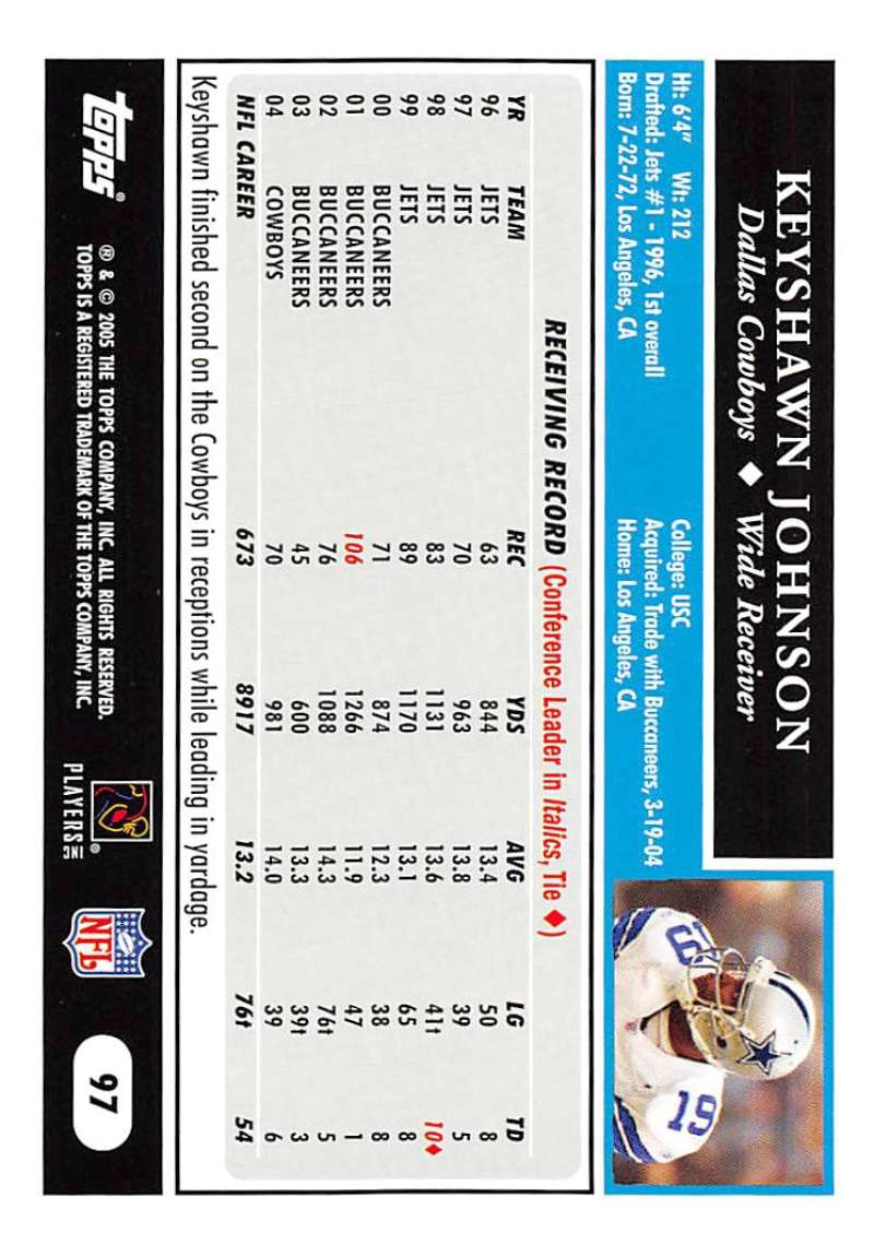 2005-Topps-NFL-Football-Cards-Pick-From-List-1-220 thumbnail 165