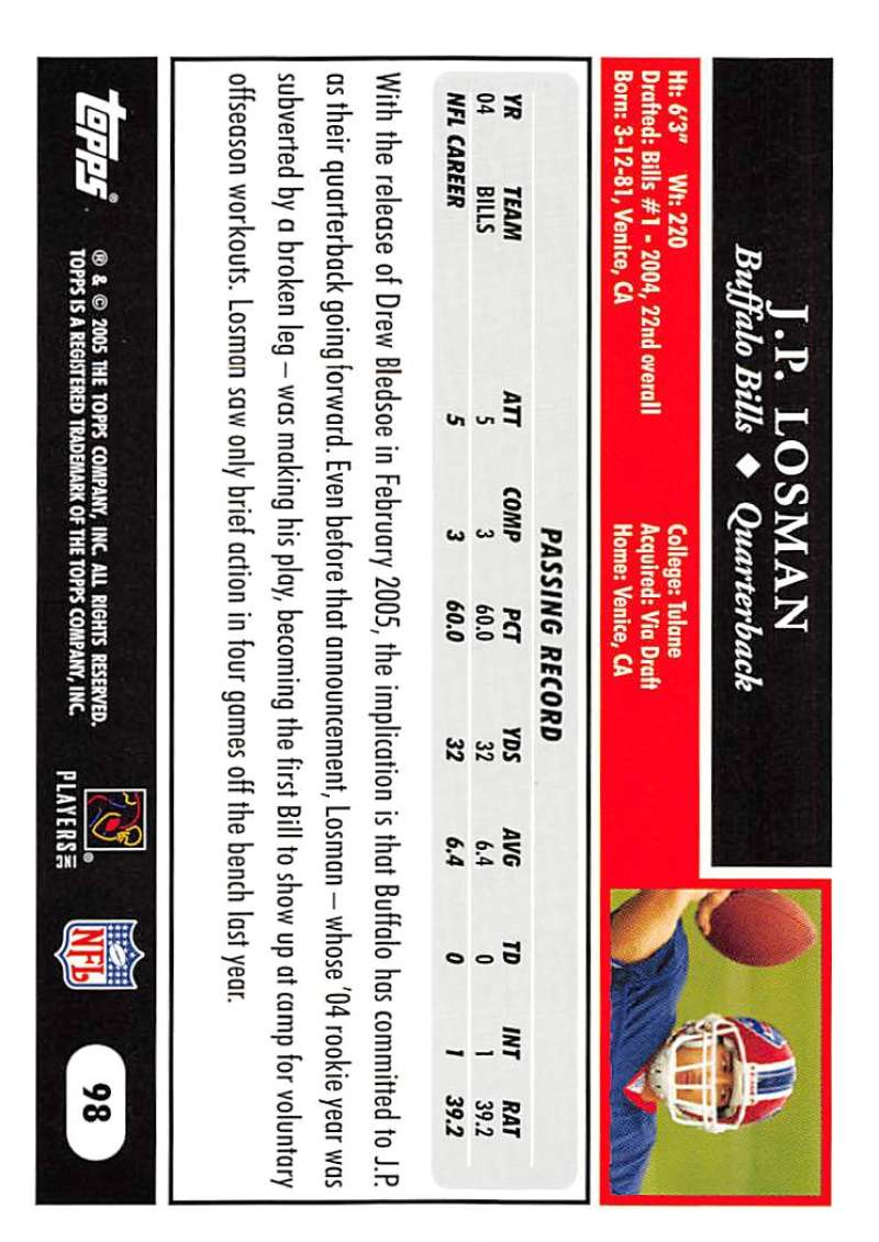 2005-Topps-NFL-Football-Cards-Pick-From-List-1-220 thumbnail 167