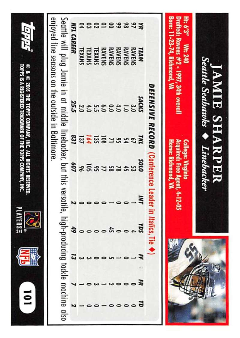 2005-Topps-NFL-Football-Cards-Pick-From-List-1-220 thumbnail 173