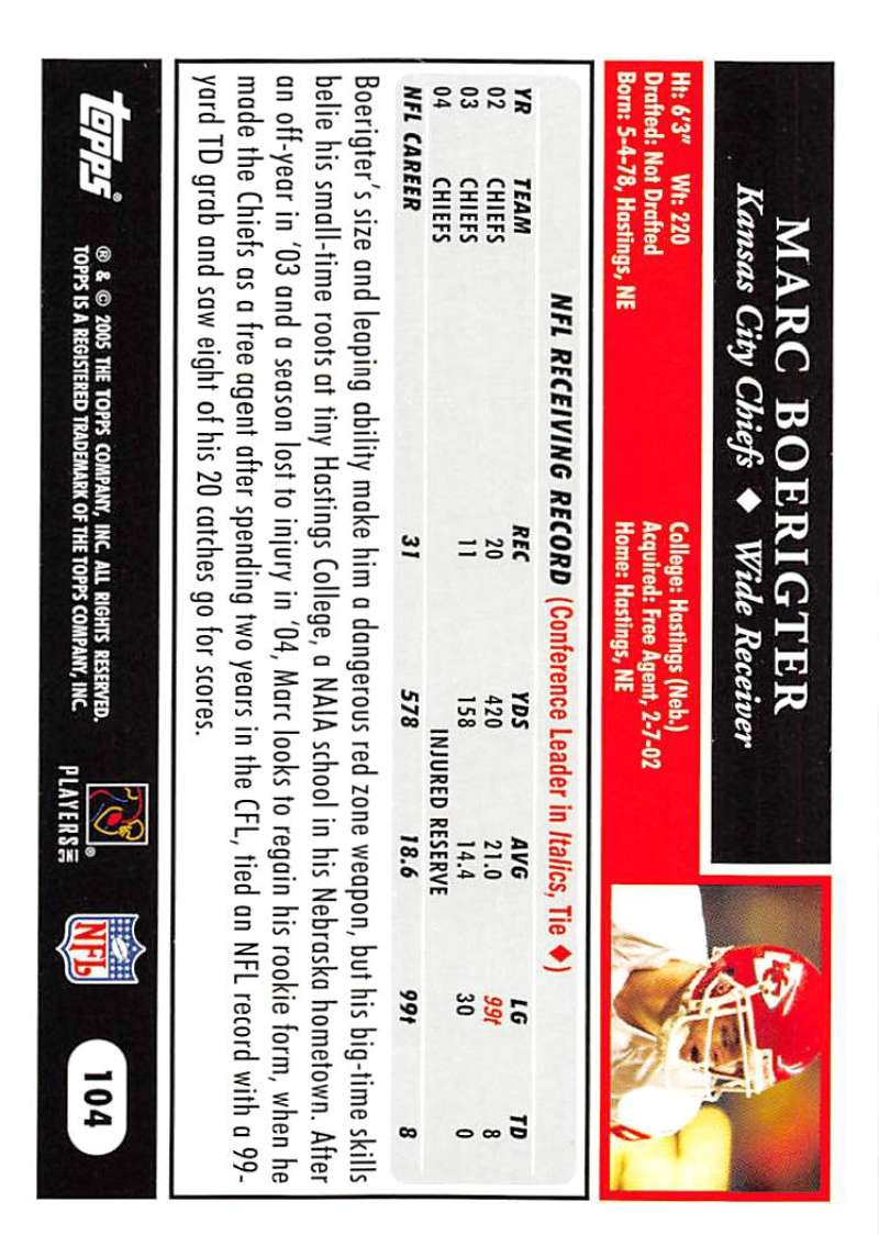 2005-Topps-NFL-Football-Cards-Pick-From-List-1-220 thumbnail 179