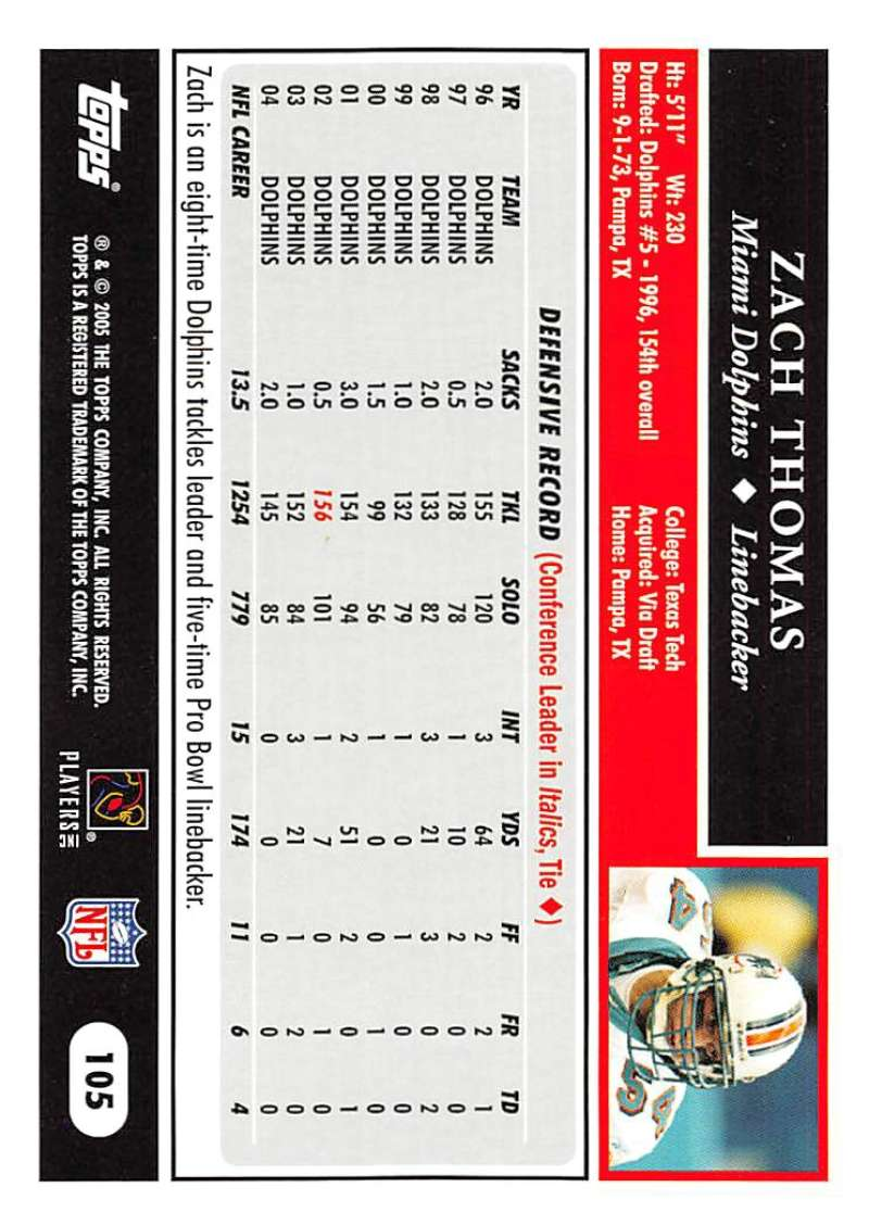 2005-Topps-NFL-Football-Cards-Pick-From-List-1-220 thumbnail 181