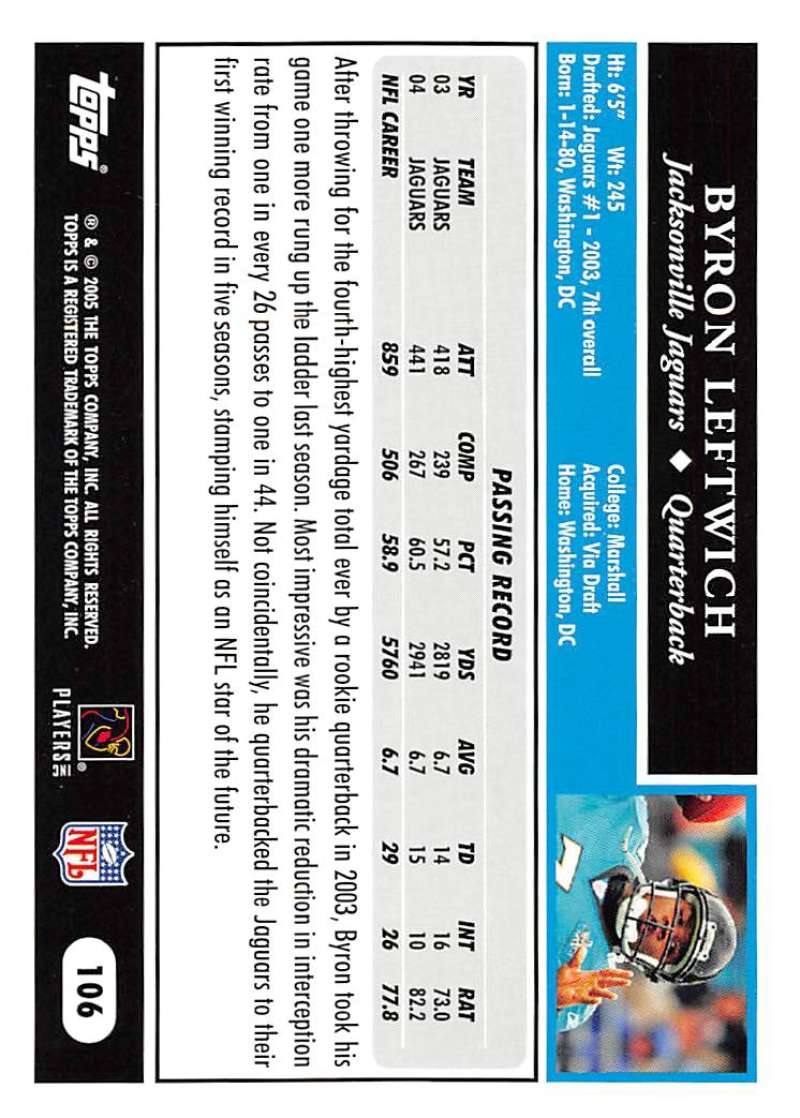 2005-Topps-NFL-Football-Cards-Pick-From-List-1-220 thumbnail 183