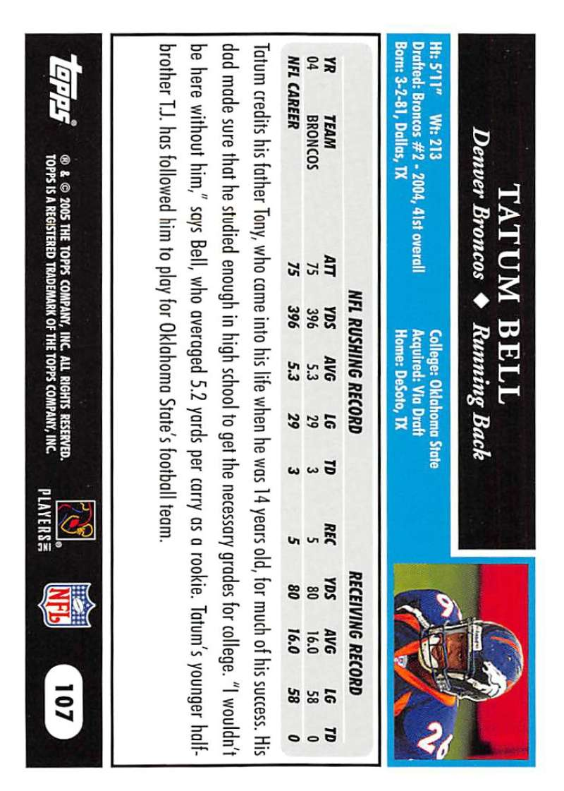 2005-Topps-NFL-Football-Cards-Pick-From-List-1-220 thumbnail 185