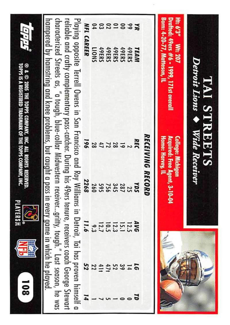 2005-Topps-NFL-Football-Cards-Pick-From-List-1-220 thumbnail 187