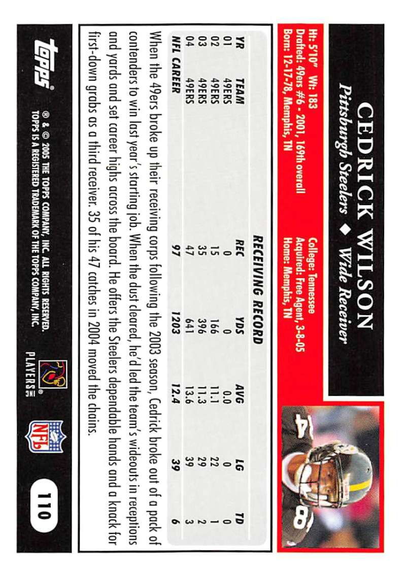 2005-Topps-NFL-Football-Cards-Pick-From-List-1-220 thumbnail 191