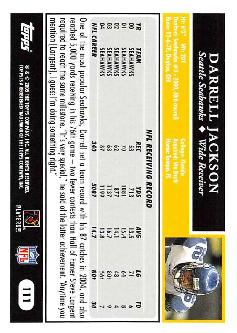 2005-Topps-NFL-Football-Cards-Pick-From-List-1-220 thumbnail 193