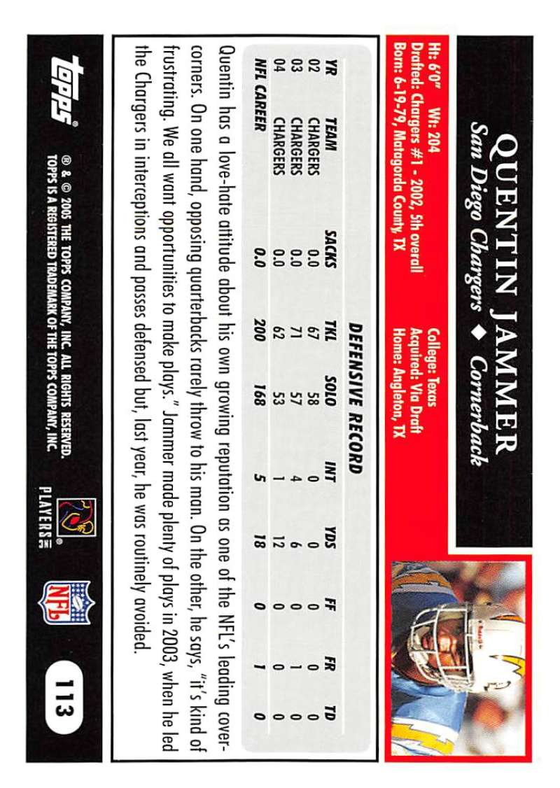 2005-Topps-NFL-Football-Cards-Pick-From-List-1-220 thumbnail 195