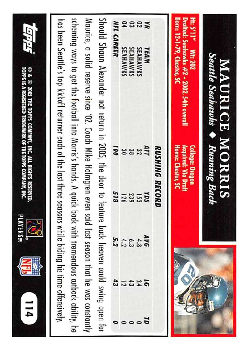 2005-Topps-NFL-Football-Cards-Pick-From-List-1-220 thumbnail 197