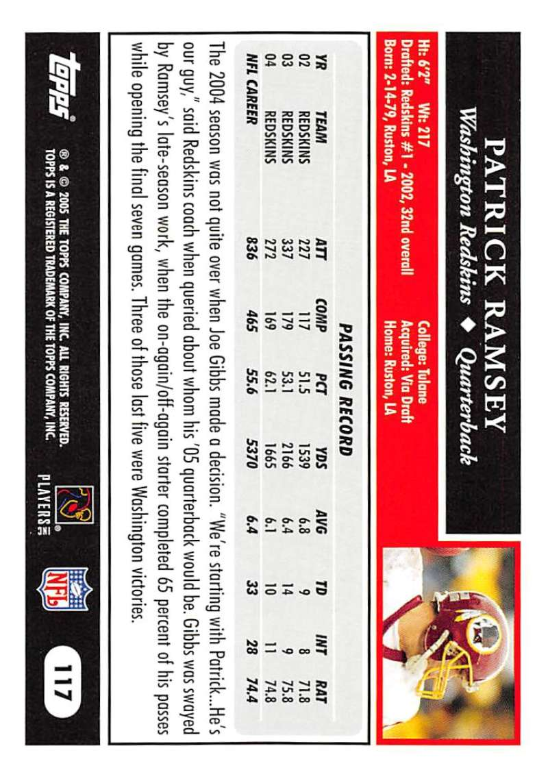 2005-Topps-NFL-Football-Cards-Pick-From-List-1-220 thumbnail 203