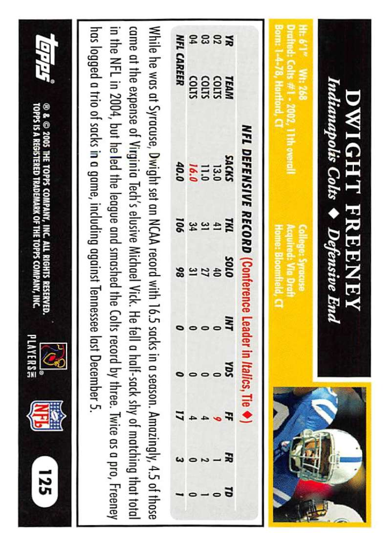 2005-Topps-NFL-Football-Cards-Pick-From-List-1-220 thumbnail 215