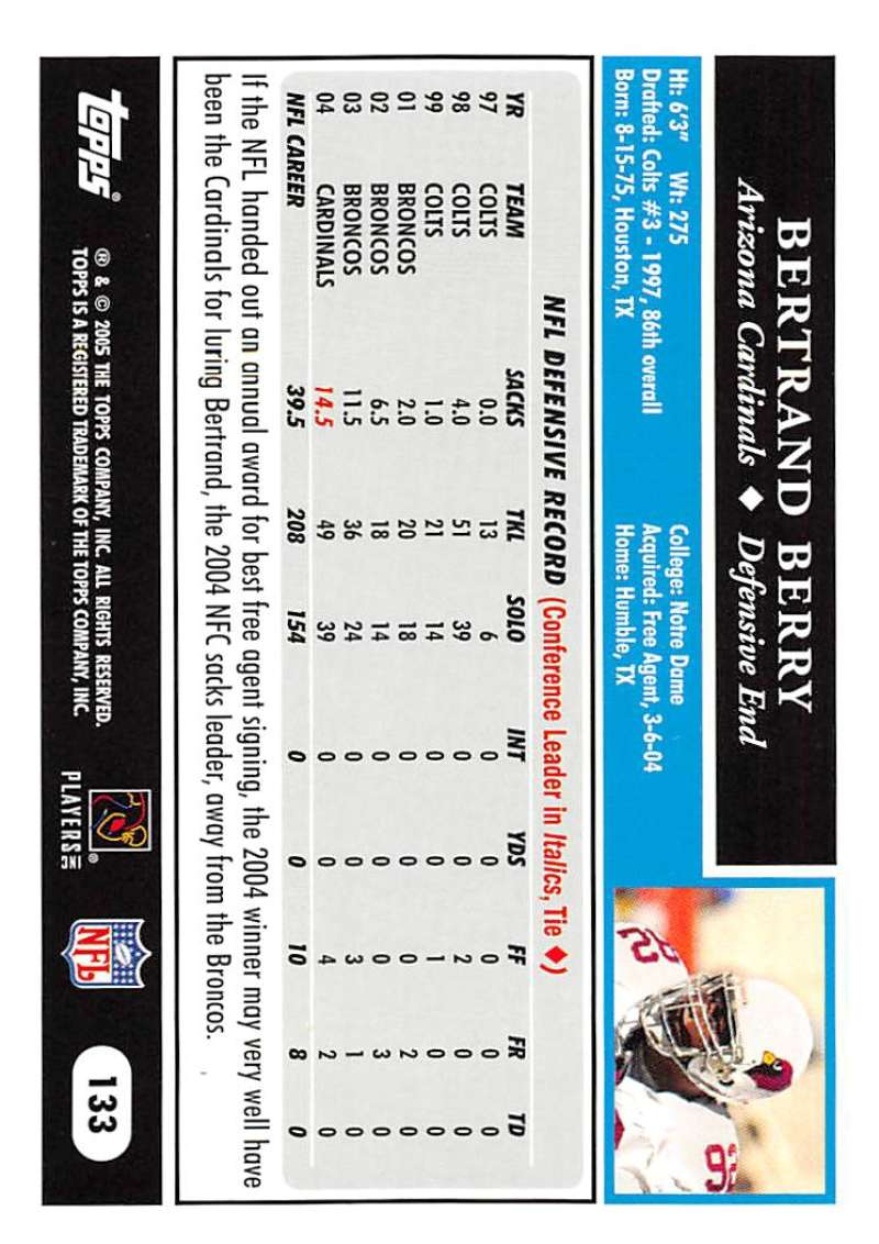 2005-Topps-NFL-Football-Cards-Pick-From-List-1-220 thumbnail 227