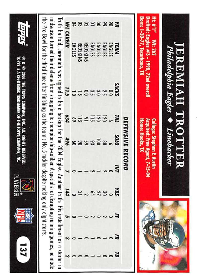 2005-Topps-NFL-Football-Cards-Pick-From-List-1-220 thumbnail 235