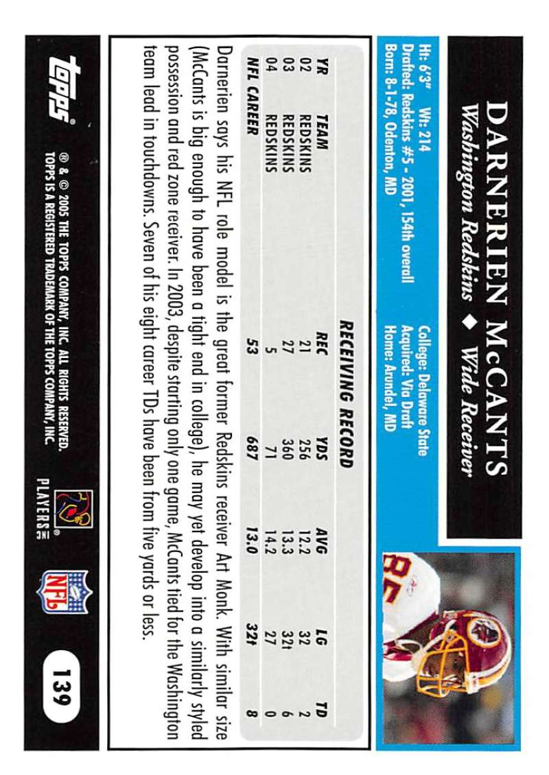 2005-Topps-NFL-Football-Cards-Pick-From-List-1-220 thumbnail 239
