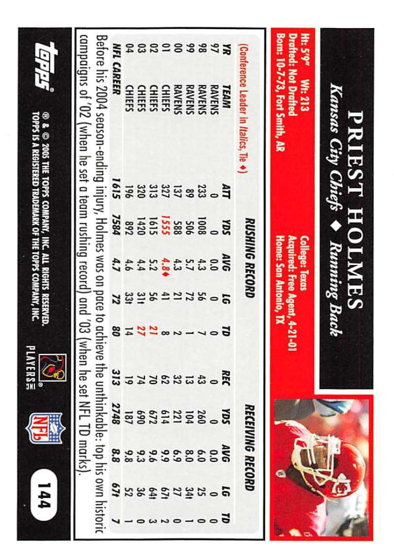 2005-Topps-NFL-Football-Cards-Pick-From-List-1-220 thumbnail 247