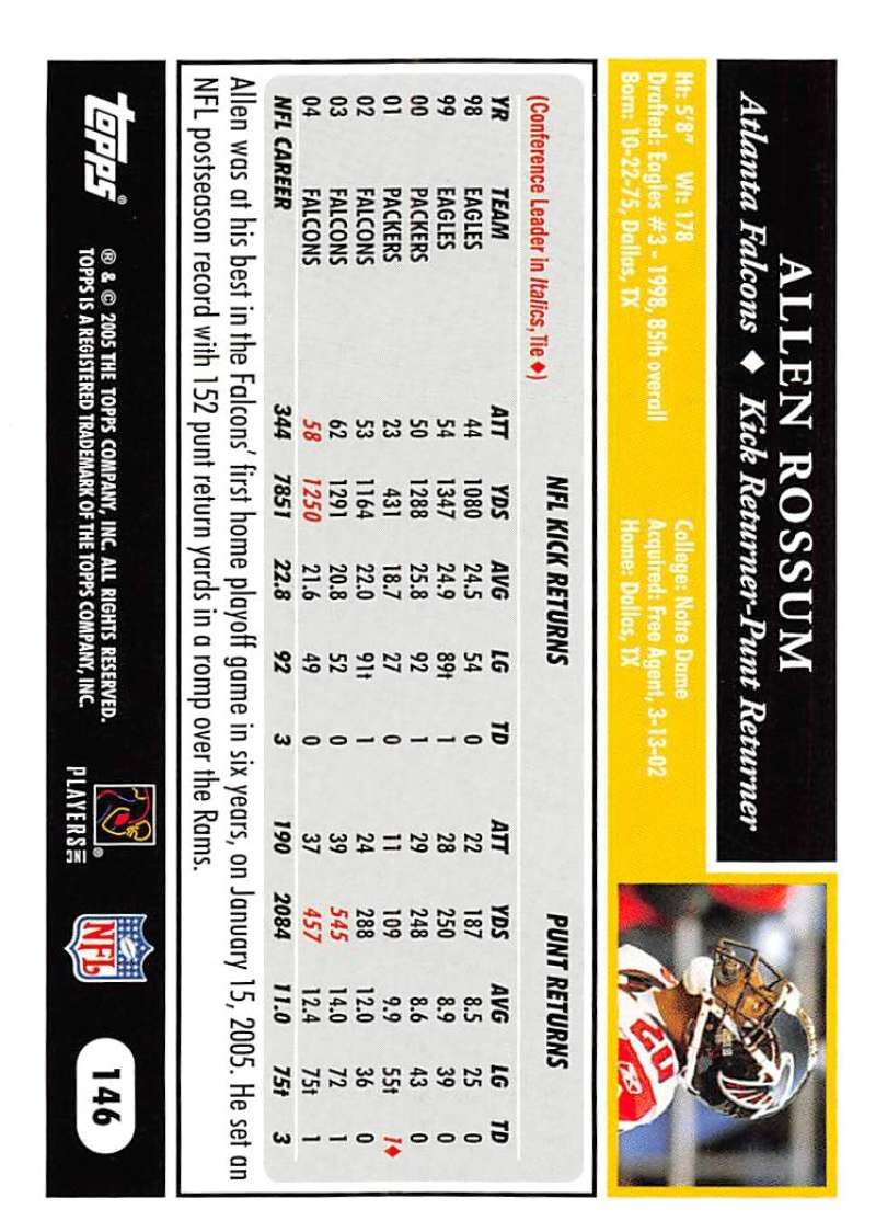 2005-Topps-NFL-Football-Cards-Pick-From-List-1-220 thumbnail 251