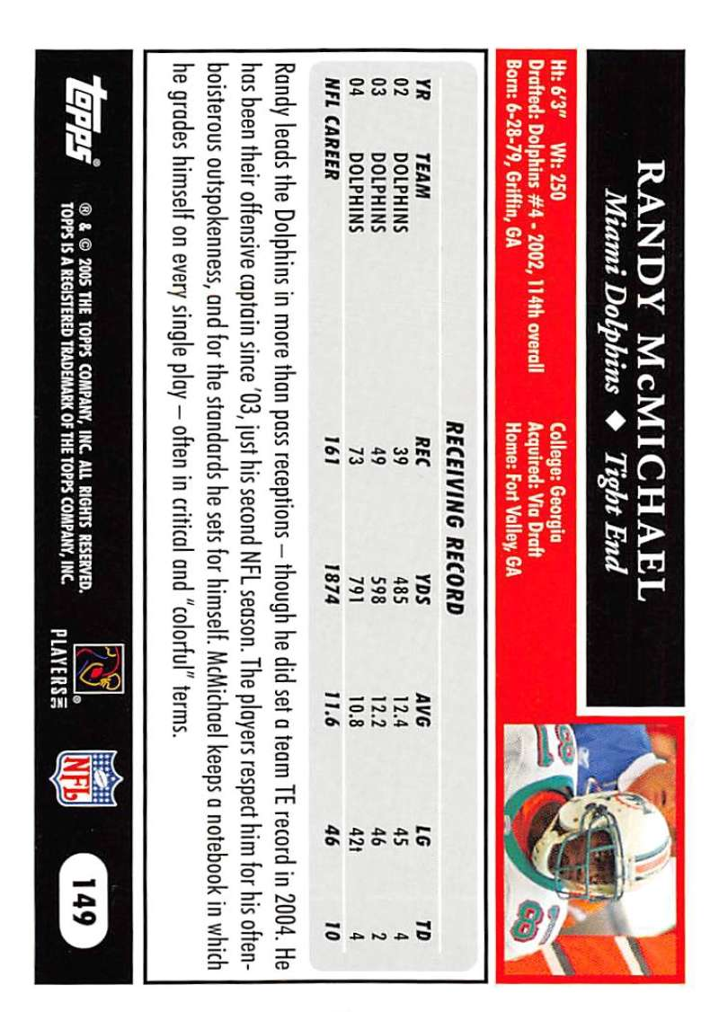 2005-Topps-NFL-Football-Cards-Pick-From-List-1-220 thumbnail 257