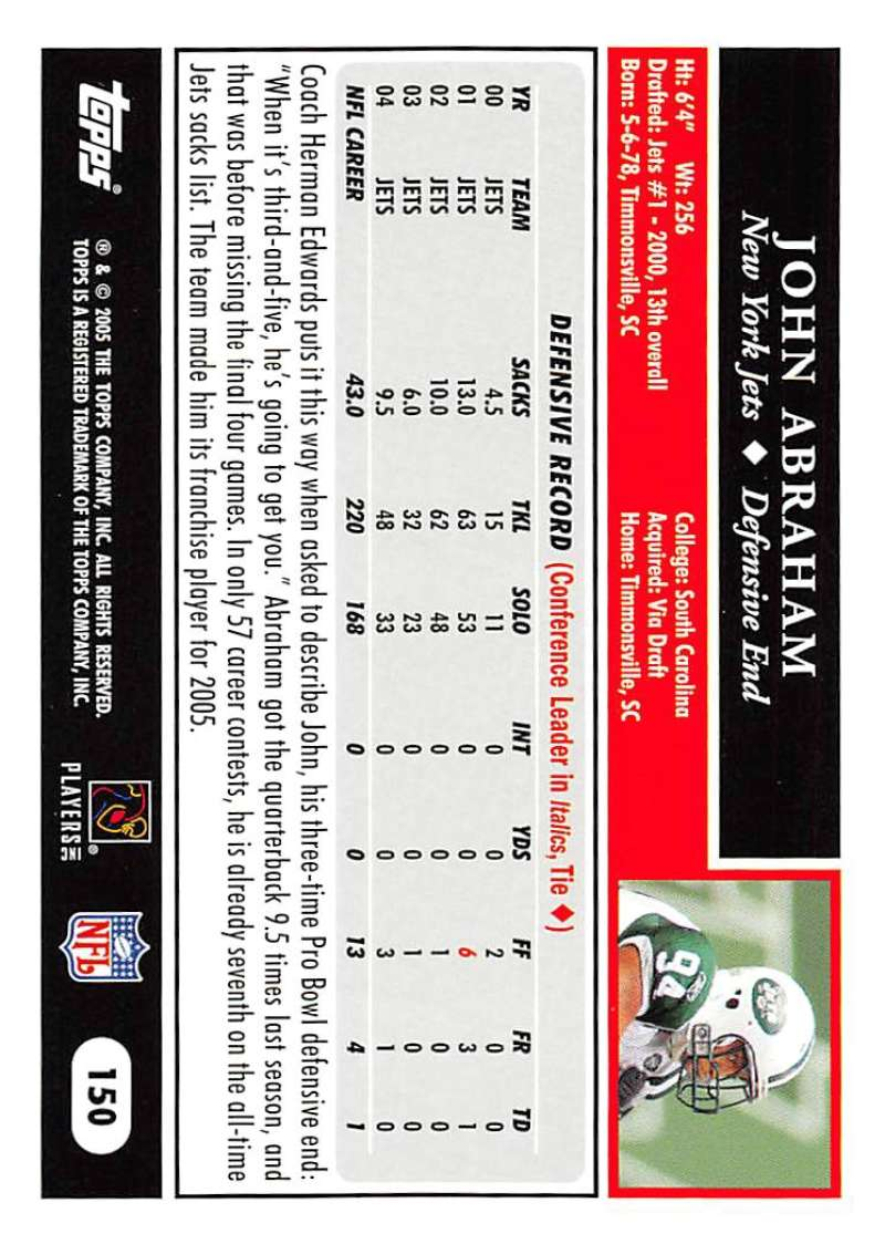 2005-Topps-NFL-Football-Cards-Pick-From-List-1-220 thumbnail 259