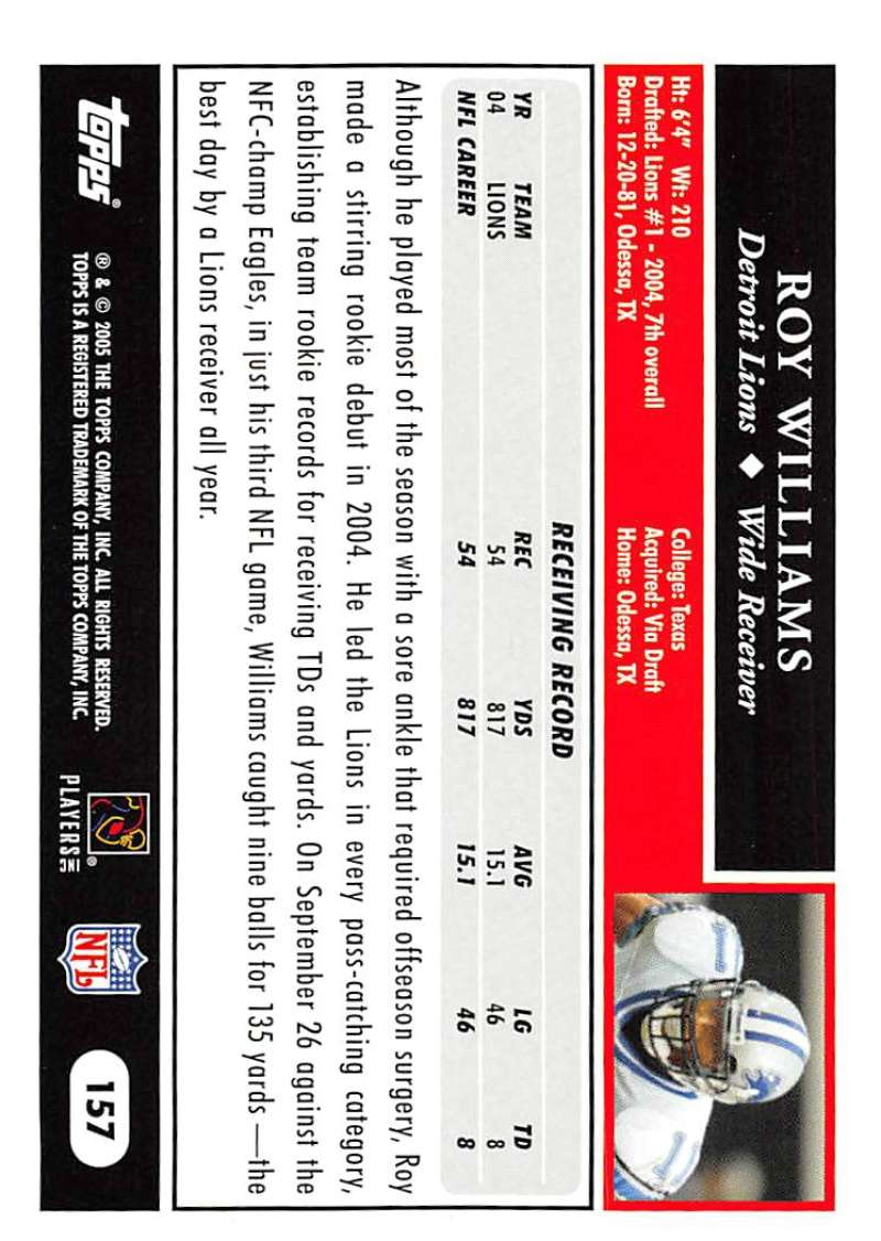 2005-Topps-NFL-Football-Cards-Pick-From-List-1-220 thumbnail 273