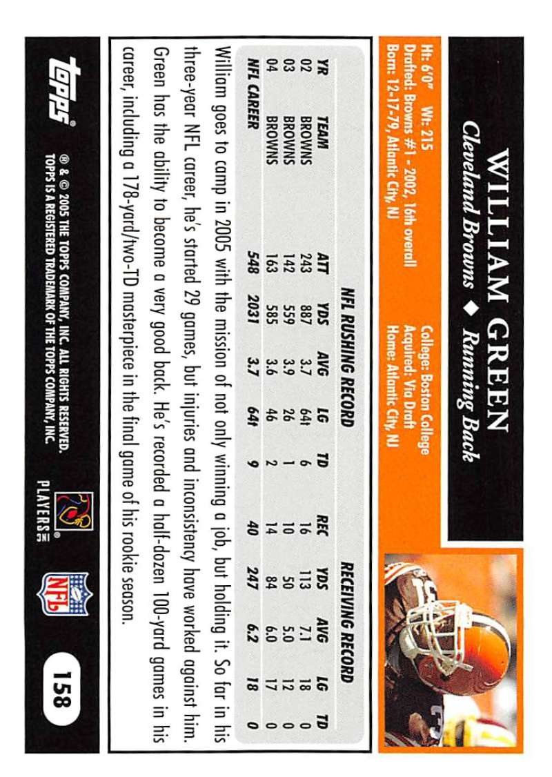 2005-Topps-NFL-Football-Cards-Pick-From-List-1-220 thumbnail 275