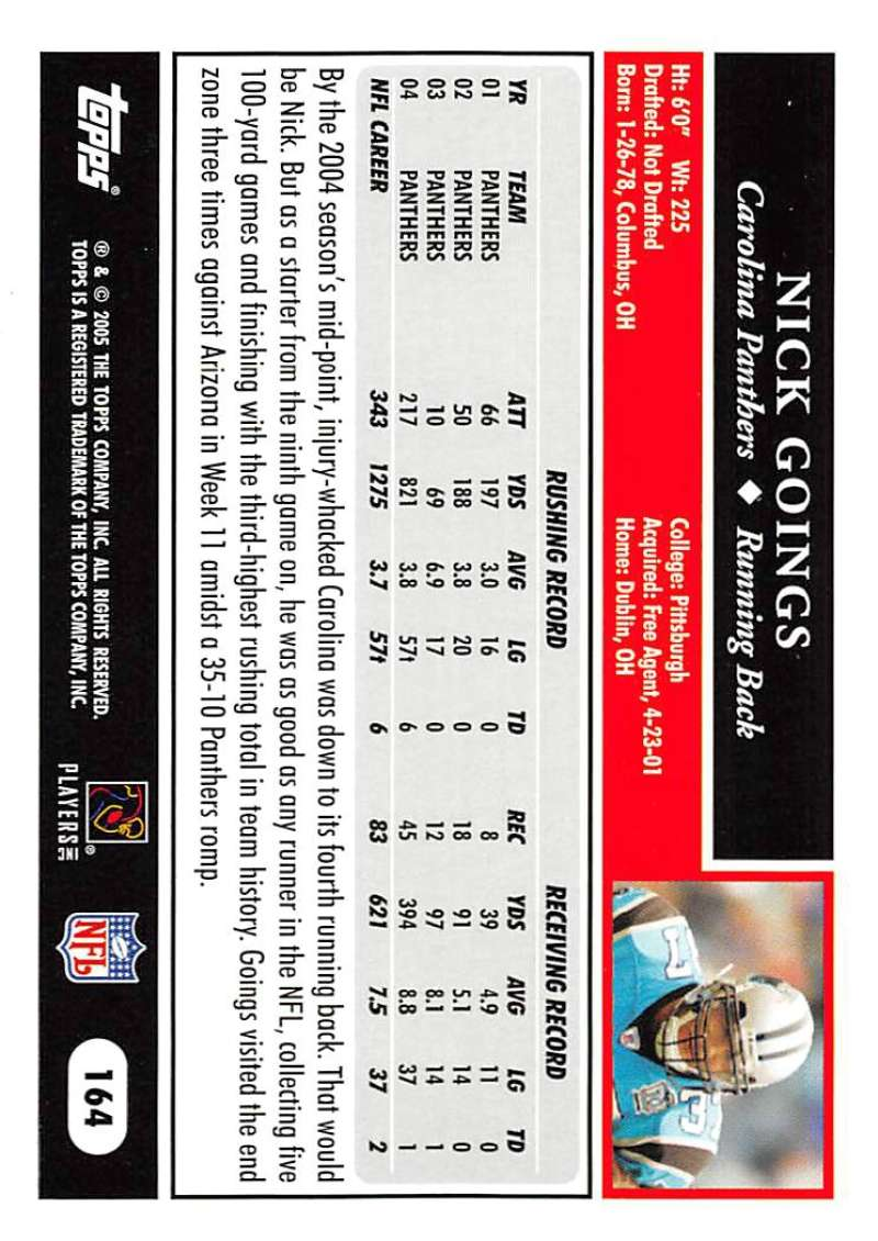 2005-Topps-NFL-Football-Cards-Pick-From-List-1-220 thumbnail 285