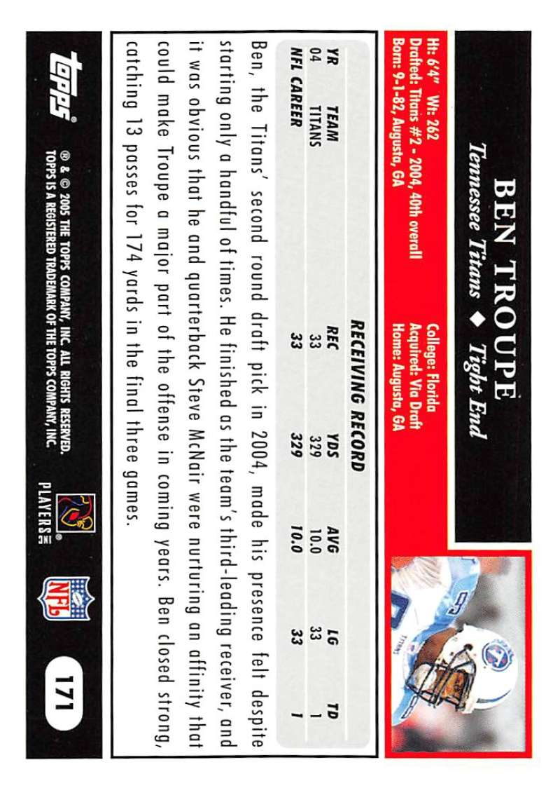2005-Topps-NFL-Football-Cards-Pick-From-List-1-220 thumbnail 299