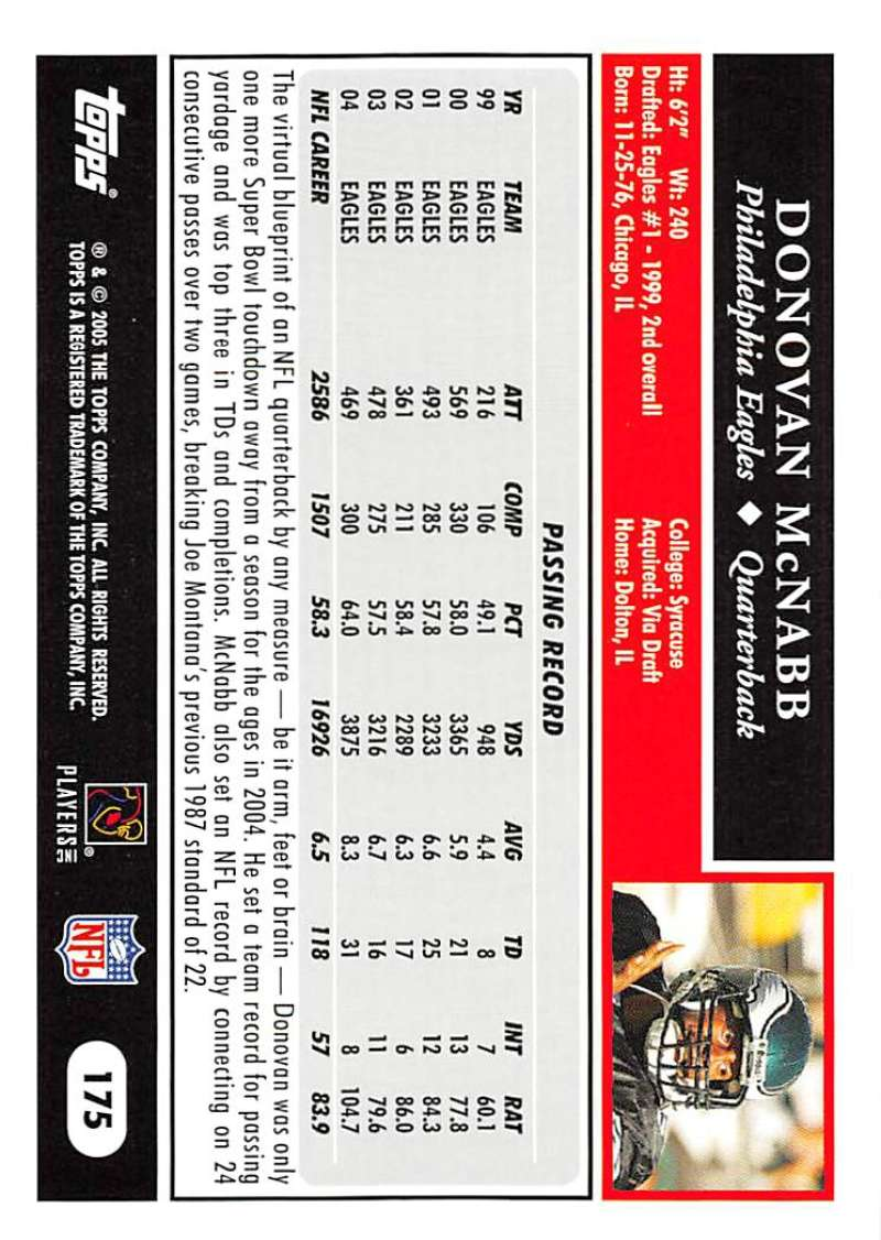 2005-Topps-NFL-Football-Cards-Pick-From-List-1-220 thumbnail 305