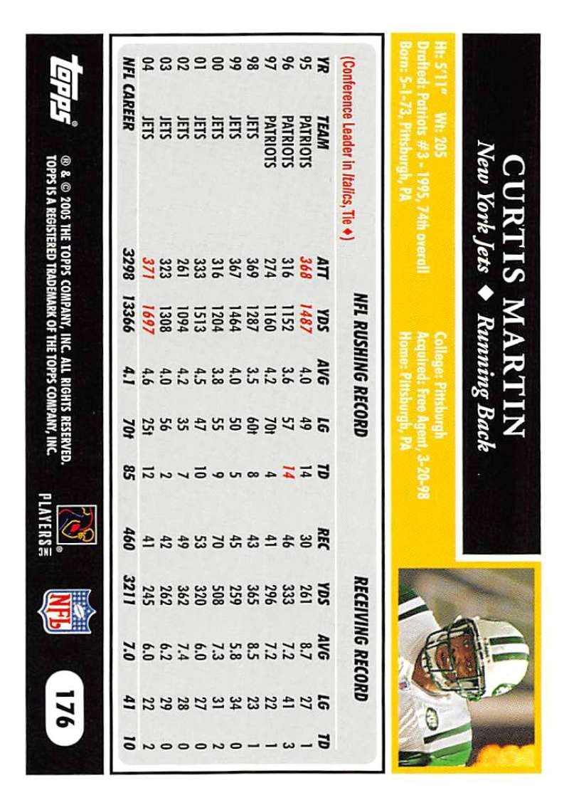 2005-Topps-NFL-Football-Cards-Pick-From-List-1-220 thumbnail 307