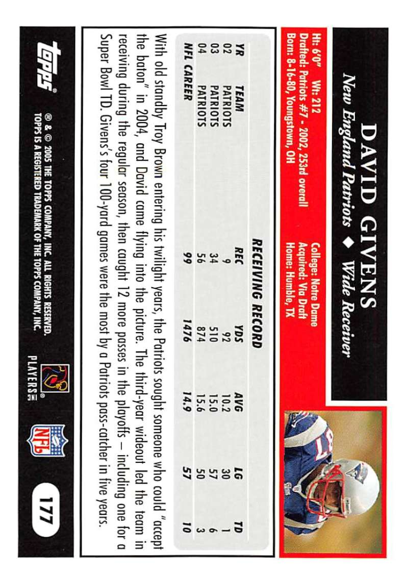 2005-Topps-NFL-Football-Cards-Pick-From-List-1-220 thumbnail 309