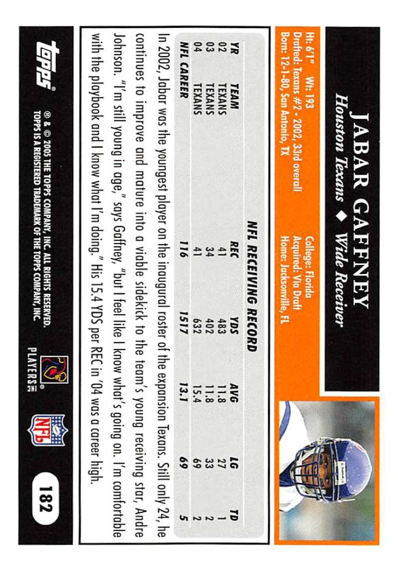 2005-Topps-NFL-Football-Cards-Pick-From-List-1-220 thumbnail 315