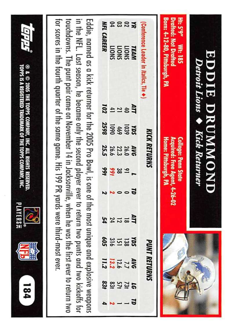 2005-Topps-NFL-Football-Cards-Pick-From-List-1-220 thumbnail 319